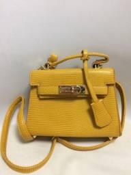 Bolsa pequena amarela