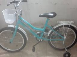 Título do anúncio: Bicicleta feminina azul