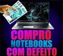 Aceito notebook com ou sem defto pgto dinheiro avalio na hr