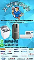Técnico especializado em Máquina de lavar, geladeira, ar condicionado