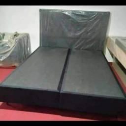 !!SO HOJE Baixou Base box queen 1.58x1.98 de 680 por 450 madeira frete grátis!!