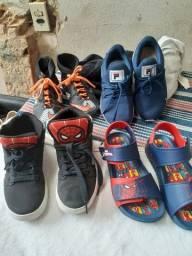 Calçados pra criança *menino
