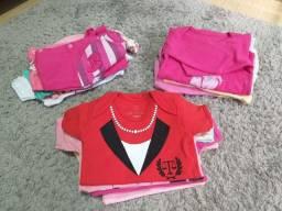 Lotinho roupas bebê menina
