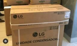Ar condicionado 12000 BTUS LG inverter lacrado com nota fiscal garantia de 1 ano