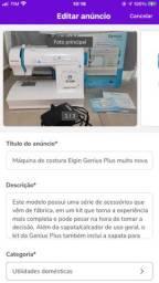 Máquina Elgin Genius Plus