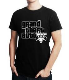 Camiseta GTA - Masculina - Tamanho M, G