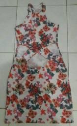 Vendo vestido  floral  novo , tamanho único