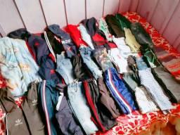 Lote de roupas e calçados tamanho 5e 6 da roupas calçados numero 29e30 em ótima condição