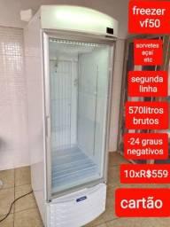 Título do anúncio: Freezer p sorvetes açaí e congelados em geral zero segunda linha ótimo valor