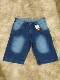 Bermuda jeans - Tamanho 38