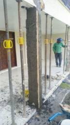 Trabalhamos com recuperação estrutural e qualquer tipo de obra.