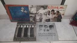 LPs rock nacional legião urbana, titãs... vinil