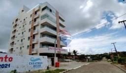 Apartamento com 3 dormitórios à venda, 101 m² por R$ 445.817,00 - Carapibus - Conde/PB