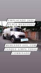 Vendo caminhão Tanque Limpa Fossa Combinado 1113