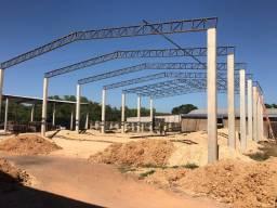 Barracão / pré moldados / estruturas metálicas