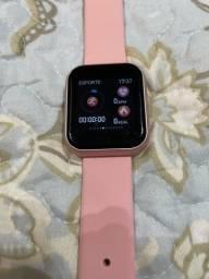 Relógio Rosa - Imitação do Watch.