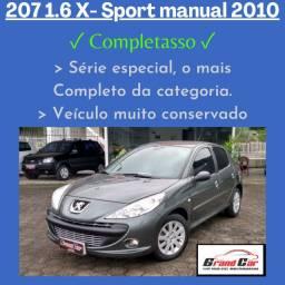 Peugeot 207 XS 1.6 2010/ Manual/ Super Conservado
