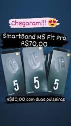 Relógio SmartBand Fit Pro M5 Pulseira Fitness
