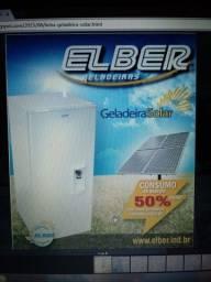 Geladeira Solar marca Elber modelo GS 180 litros