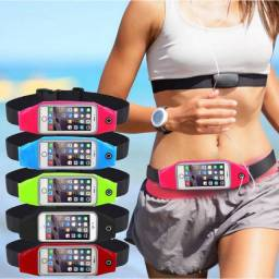 (WhatsApp) bolsa esportiva cinta impermeável p/ celular