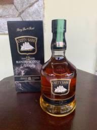 PRECIOSIDADE! Whisky Escocês Cutty Sark 12 anos Blended Scotch. ACEITO CARTÃO