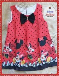 Vestido Minnie (2 e 4 anos)