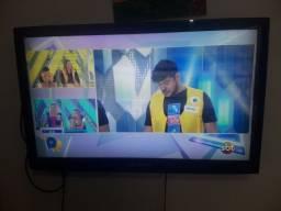 TV buster 43 com mancha na tela