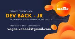 Desenvolvedor Back-End Jr