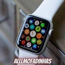 Relógio smartwatch w26 com tela infinita