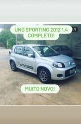 Uno Sporting 1.4 2012 completo
