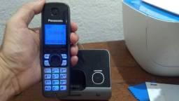 Telefone S/fio Panasonic KX-TG6711LBB