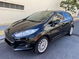 Fiesta Turbo 2017 Automático em Estado de Zero!! Baixíssima Quilometragem!!