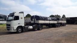 Conjunto rodocacamba Volvo FH12 9 eixos