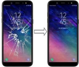 Vidro da Tela para Samsung A6 Plus 2018 A605 , Mantenha a Originalidade do seu Celular