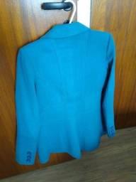 Casaco de lã sintética
