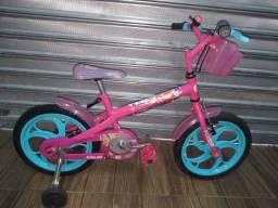 Bicicleta infantil aro 16 Barbie Caloi