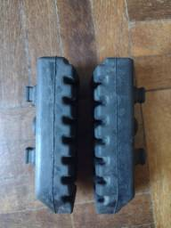 Par de borrachas originais para pedaleira da Tiger 800