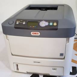 Vendo Impressora Laser OKI C711WT - Tonner Branco
