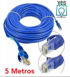 Cabo de rede rj45 internet 5 metros