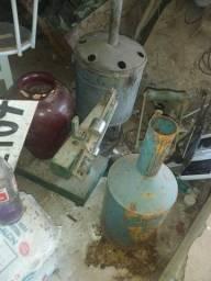 Coisas antiga de posto de gasolina