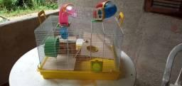 Gaiola para hamster completo