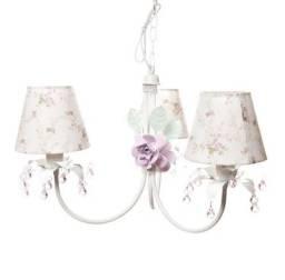 ?Lustre Flores Rosa Provençal