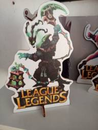 Bonecos decorativos league of legends