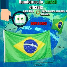 Título do anúncio: 3 por 55 Bandeira do Brasil 90X150