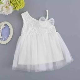Vestido flor branca