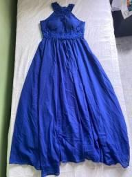 Vestido de festa /  vestido de madrinha azul