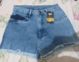 Short jeans feminino novo