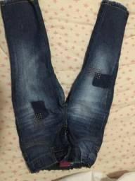 Fofura de calça infantil tamanho 2