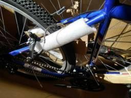 Bicicleta na caixa