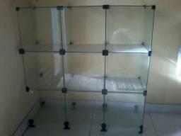 Balcâo de vidro